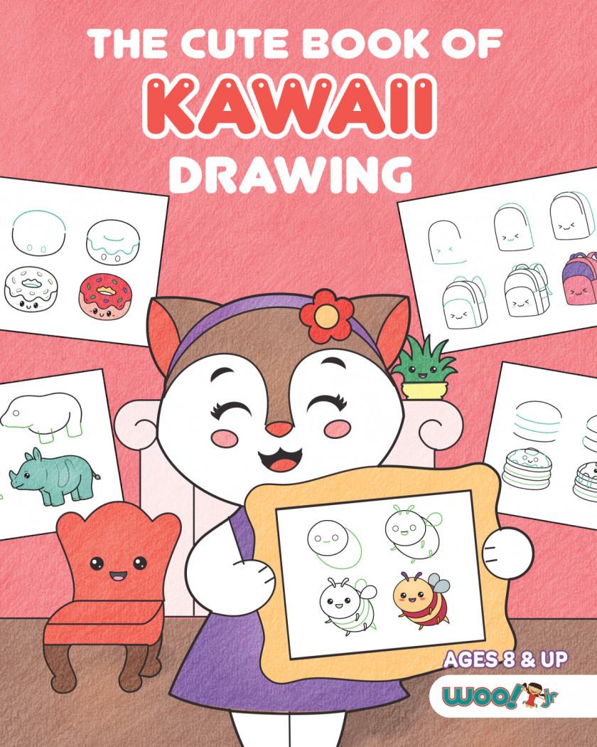 The Cute Book of Kawaii Drawing
